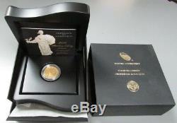 2016 W Gold 1/4 Oz Standing Liberty Centennial Commemorative Coin Box Coa
