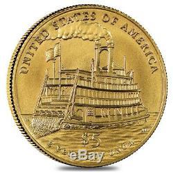 2016 W Gold $5 Commemorative Mark Twain NGC MS 70