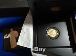 2016-W STANDING LIBERTY QUARTER GOLD CENTENNIAL COMMEMORATIVE COIN With OGP