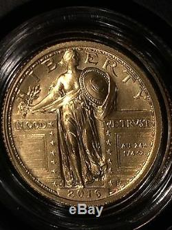 2016 W Standing Liberty 1/4 Oz. Gold Centennial Coin. Limited Mintage