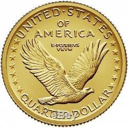 2016 W Standing Liberty QUARTER Centennial 22k. 9999 Gold Coin US MINT SEALED