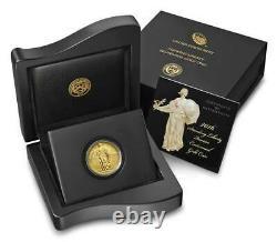 2016 W Standing Liberty Quarter Gold Centennial Commemorative Coin W Ogp & Coa