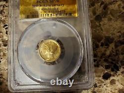 2016-W US Centennial 1/10th oz. 9999 Gold Mercury Dime PCGS SP70 FS Gold label