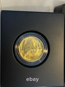 2016 W WALKING LIBERTY HALF DOLLAR CENTENNIAL 1/2 OZ. 9999 GOLD COIN US Mint