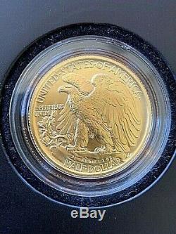 2016-W WALKING LIBERTY HALF DOLLAR CENTENNIAL GOLD COIN (16XA) in ogp