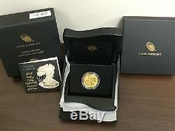 2016 W Walking Liberty 1/2 Oz. 24 Karat Gold Centennial Coin. Limited Mintage