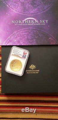 2017 Australia 1 oz $100 Gold Northern Sky Dome NGC PF 70 UC