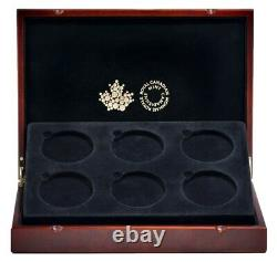 2017 Canada Big coin series set 6 gold plated silver coins Colville designs