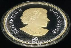 2017 Tribut to First Canadian Gold Coin $250 1-Kilogram Pure Silver Proof Coin