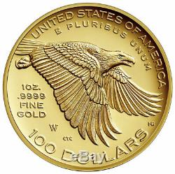 2017 W American Liberty 225th Anniv. High Relief Gold Proof Coin $100 SKU46509