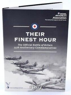 2018 22ct Gold Sovereign London Mint Office RAF Battle of Britain 7 Coin Set COA