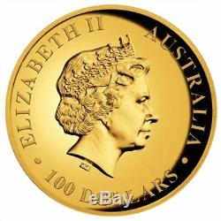 2018 Australia Koala PROOF High Relief 1oz. 9999 GOLD $100 NGC PF70 Coin ER