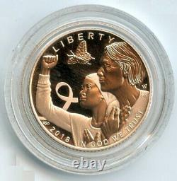 2018 Breast Cancer Awareness $5 Gold Proof Coin OGP US Mint Commemorative BJ459