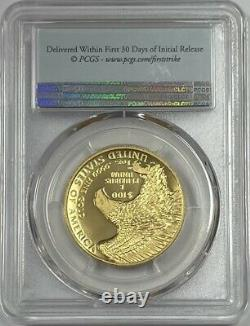 2019 W $100 High Relief Enhanced American Liberty First Strike PCGS SP70