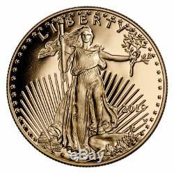 2019 W 1/10 oz Gold American Eagle $5 GEM Proof Coin OGP SKU56150
