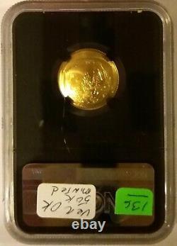 2019 W Apollo 11 50th Anniversary $5 Gold Coin, Commemorative NGC MS69