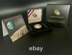 2019-W Apollo 11 50th Anniversary UNCIRCULATED $5 Gold Coin West Point Mint