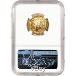 2019 W US Gold $5 Apollo 11 Commemorative BU NGC MS70 Early Releases Lunar Label