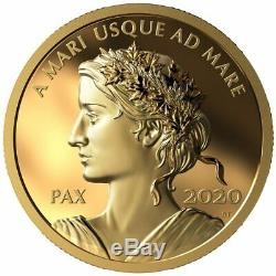 2020 $200 Peace Dollar Pure Gold Coin