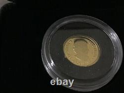 2020 $8 Pure Gold Coin Lucky Flower Dragon Coin LOWEST MINTAGE 1/25 EVER 5,888