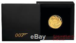 2020 James Bond 007 Proof $50 1/4oz. 9999 Gold COIN NGC PF 70 FR PF70
