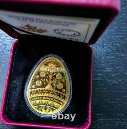 2020 Tree of Life Pysanka Gold Coin. Super Rare Only 200 Made