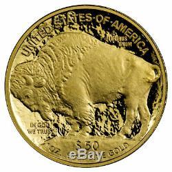 2020 W 1 oz Gold American Buffalo Proof $50 Coin GEM OGP
