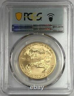 2020 W $50 Burnished Gold Eagle First Day Of Issue PCGS SP70. Shipping today