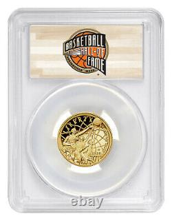 2020 W $5 Basketball Hall of Fame Gold Proof Coin PCGS PR70 DCAM FS HOF
