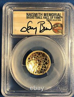 2020 W $5 Gold Basketball Hof Naismith Read! 6 Coin Set Pcgs Pr70dcam 6 Autograp