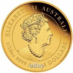 2021 Australia $15 Lunar Year of the Ox 1/10 oz Gold Proof Coin 2,500 Made