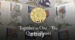 2021 UK Queen's Beasts Completer £100 1oz Gold Proof Coin NGC PF70UC FR PRESALE