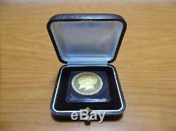21KT 10g Pahlavi Dynasty 2535 SH Mohammad Reza Shah Gold Commemorative Coin