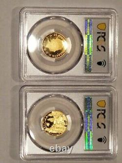 400th Anniversary Of The Mayflower Voyage Two Coin Gold Proof Set. No Reserve