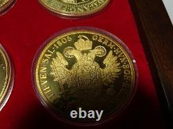 Africana Commemorative Mint Gold Plated Sterling Silver Cape Coin Heritage Set