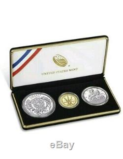 American Legion 100th Anniversary 2019 Three-Coin Proof Set SOLD OUT AT US MINT