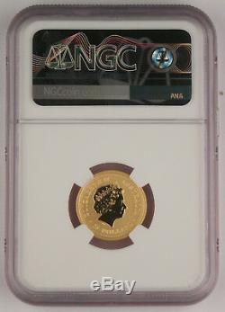 Australia 2000 1/4 Oz 9999 Gold $25 Coin Year of Dragon NGC MS70 Perfect Grade
