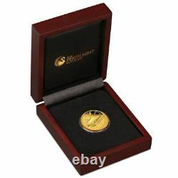 Back to the Future 2015 1/4 oz Gold Proof Coin 99.99% Pure Gold Limited Mintage