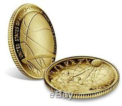 Basketball Hall of Fame 2020 W Proof $5 Gold Coin-Item #20CA Pre-Sale-Pre-Sale