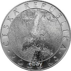Bimetal Commemorative coin silver with a gold inlay-Czech National Bank 2019
