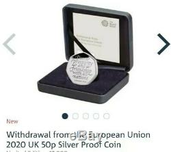 Brexit 2020 UK coin bundle- Gold sovereign+ Silver proof+ Strike your own BU+ BU