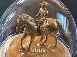 CANADA 2020 The Musical Ride 10 oz. Pure Silver Gold-Plated Sculpture Coin