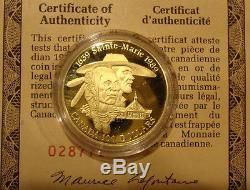 Canada $100 Gold Coin 14k 1989 Sainte Marie