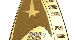 Canada 2016 200$ 50th Anniversary Star TrekTM Delta Coin Pure Gold Proof Coin