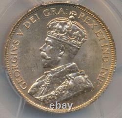 Canada George V 10 Dollars 1914 Pcgs Ms64+