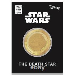 Disney Star Wars Commemorative Collector's Gold Coin (Set of 24) Yoda Dark Vader