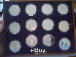 GOLDEN JUBILEE SILVER COIN SET BOXED MINT A HOUSE CLEARANCE fresh to maket