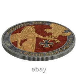 Germania 2020 5 Mark GOLD CROSS 1 Oz 999 Silver Coin