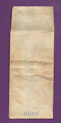 Original Souvenir Envelope Panama-Pacific 1915-S Gold Dollar Commemorative Coin