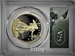 Proof 2020 V75 American Gold Eagle 1 ounce $50 coin PCGS MS69